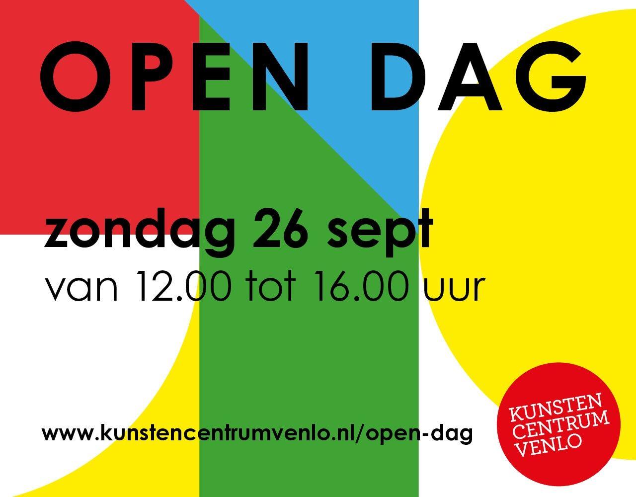 Kunsten centrum week 38 open dag rectangle