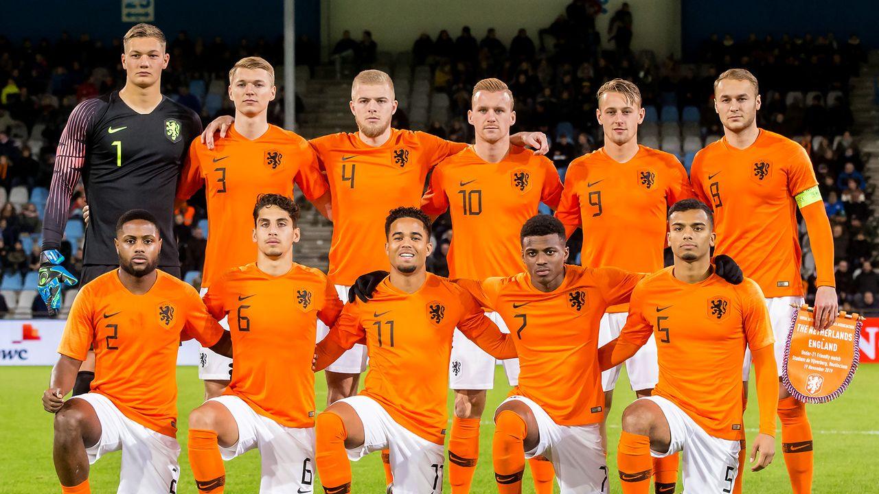 Jong Oranje voor EK-kwalificatie naar De Koel