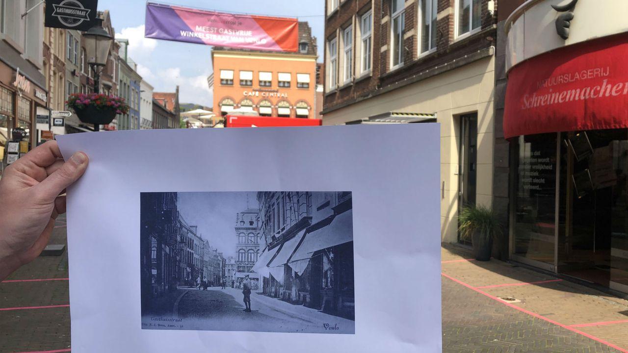 Vijf panden Gasthuisstraat in oude glorie hersteld