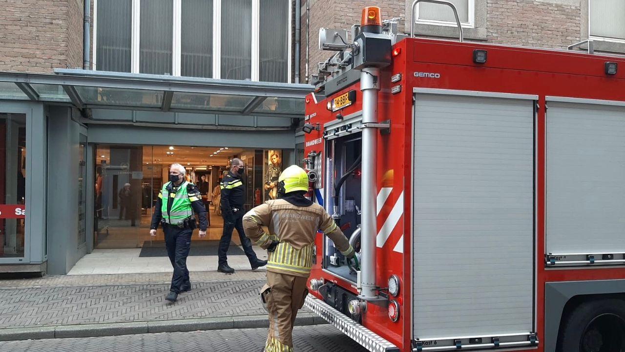 Winkel in Blerick geventileerd na brandmelding