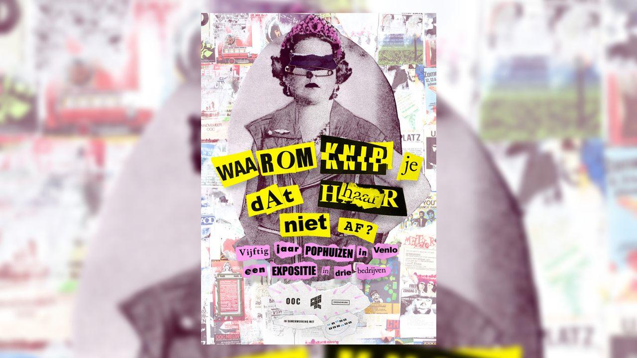 Vijftig jaar Venlose poppodia in expositie van affiches