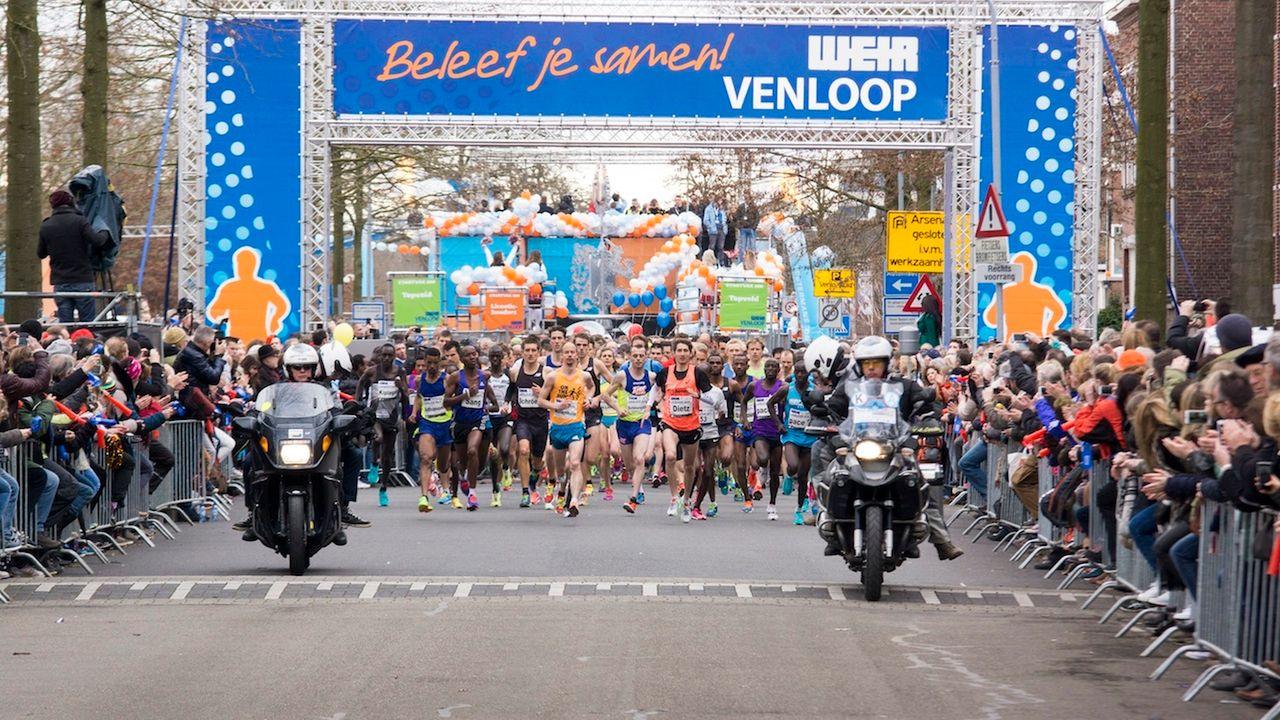 Venloop alsnog verplaatst naar 2022