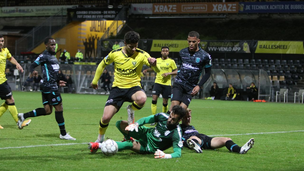 Gelijkspel maakt einde aan negatieve reeks voor VVV