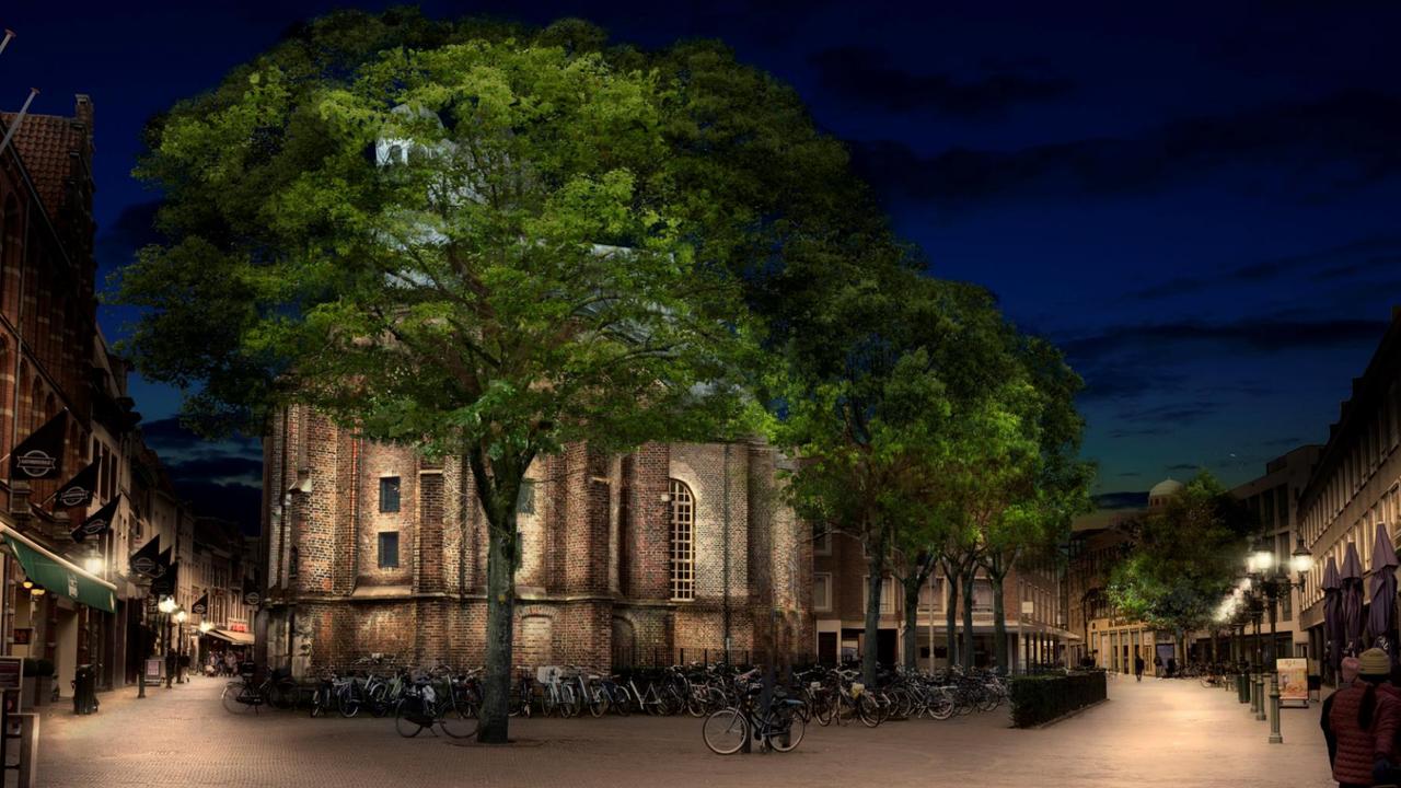 Historische binnenstad kan veel beter worden aangelicht