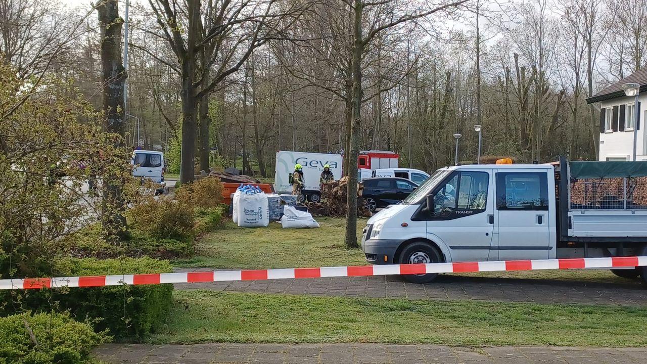 Gaslek bij werkzaamheden Schaapsdijkweg