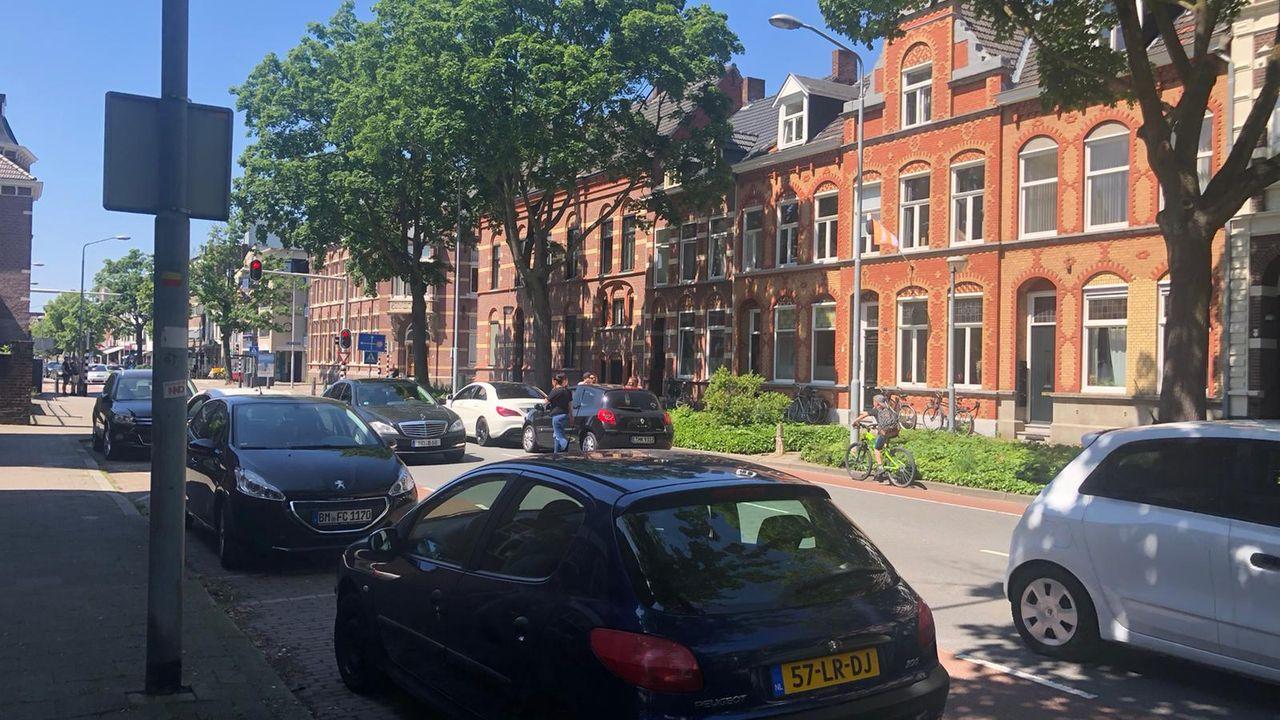 Opstopping: botsing Goltziusstraat Venlo