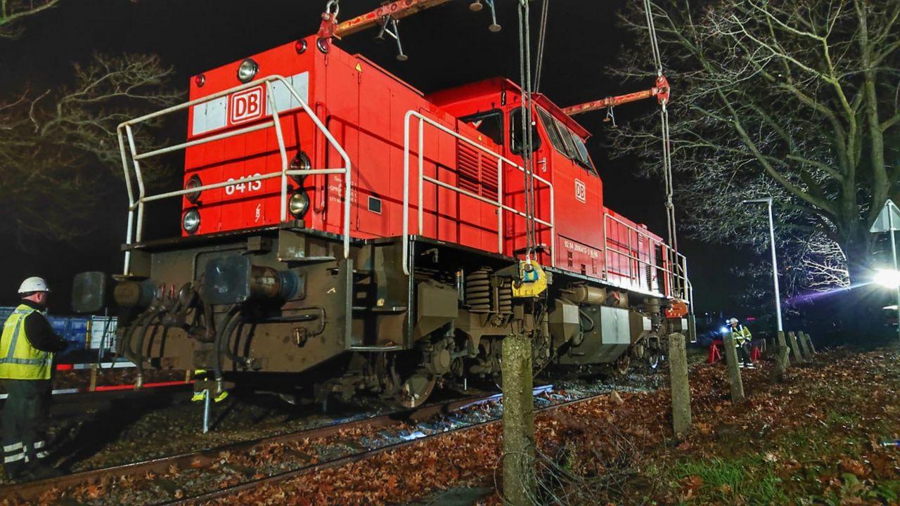 Ook tweede ontspoorde trein terug op rails