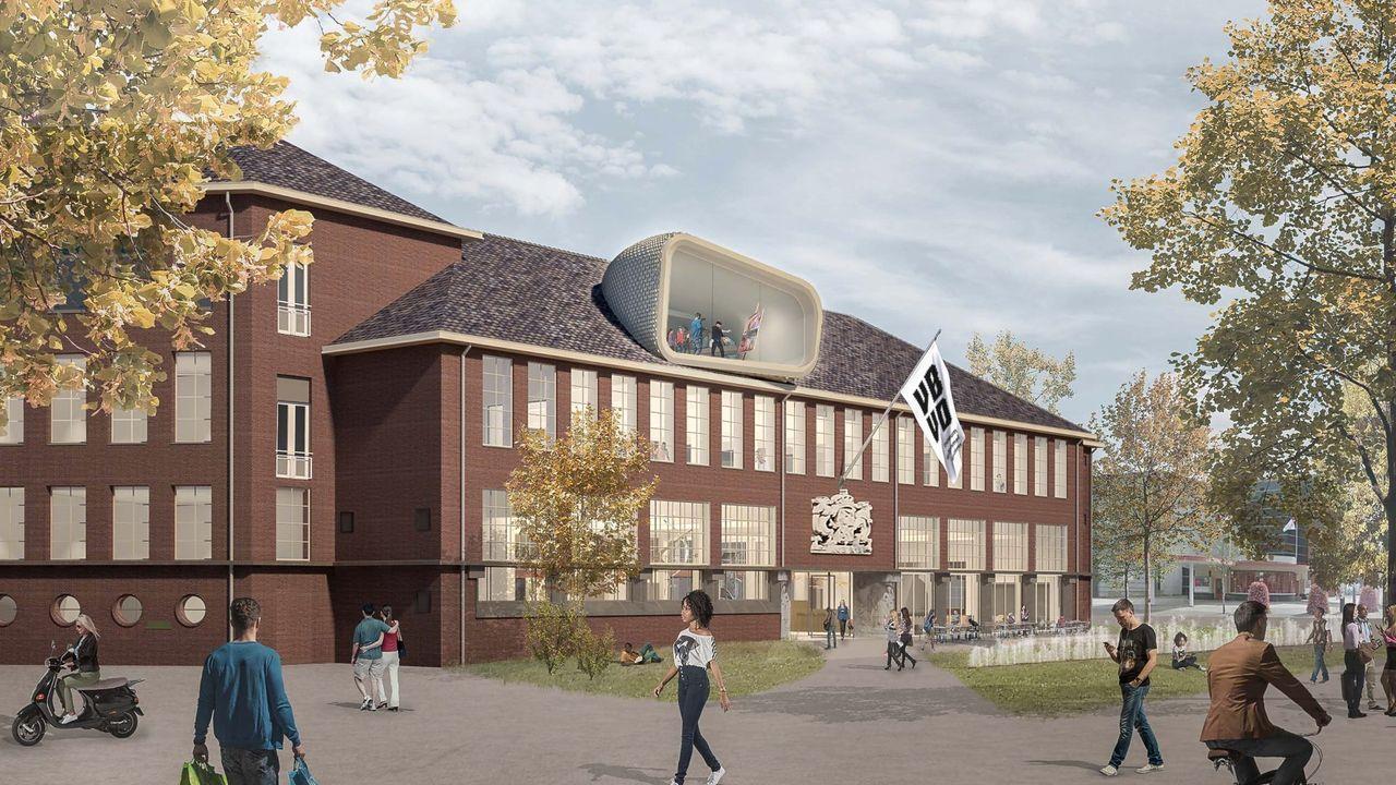 Kunstvenster nieuw museumgebouw in livestream onthuld