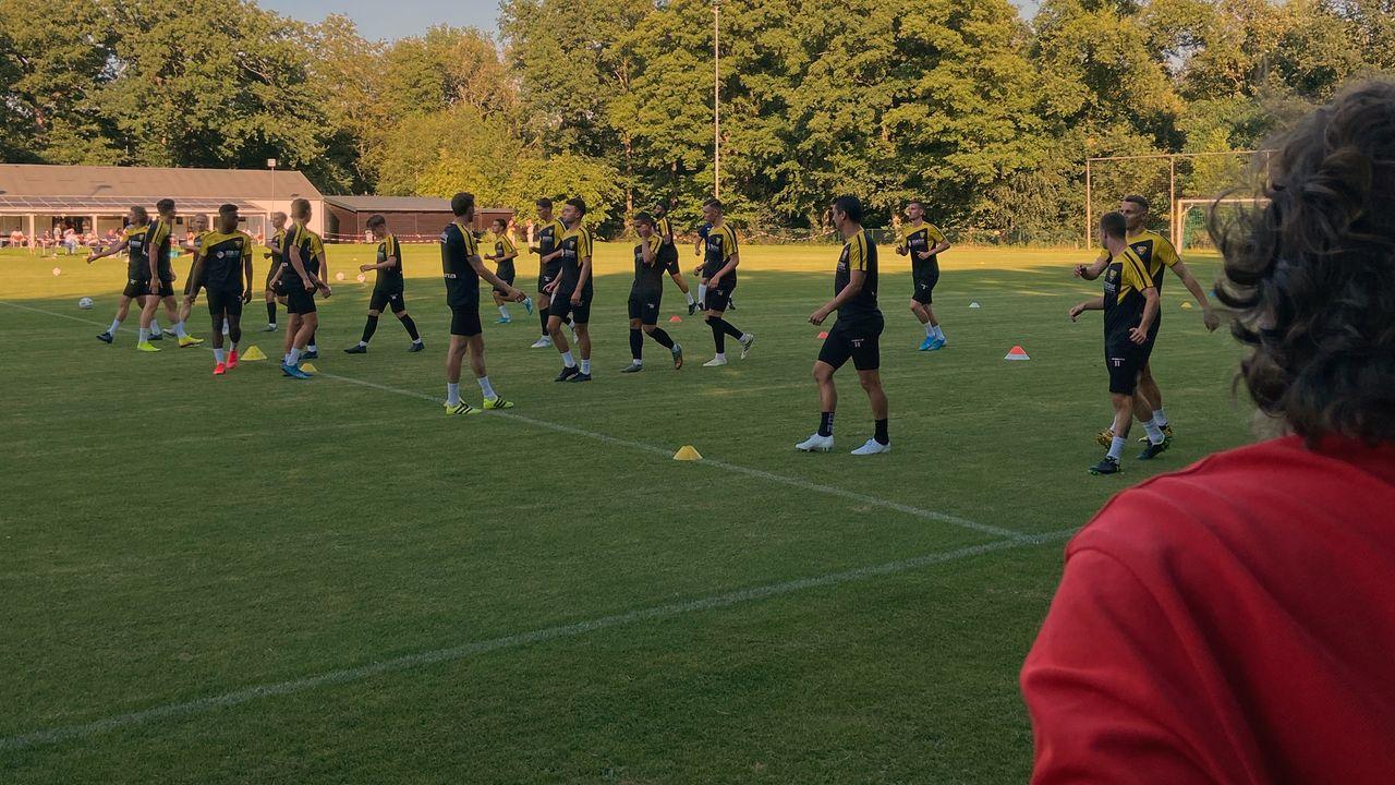 VVV terug op het veld, lange voorbereiding van start