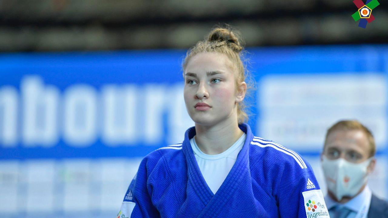 Judotalent Lieke Derks wint brons op EK judo