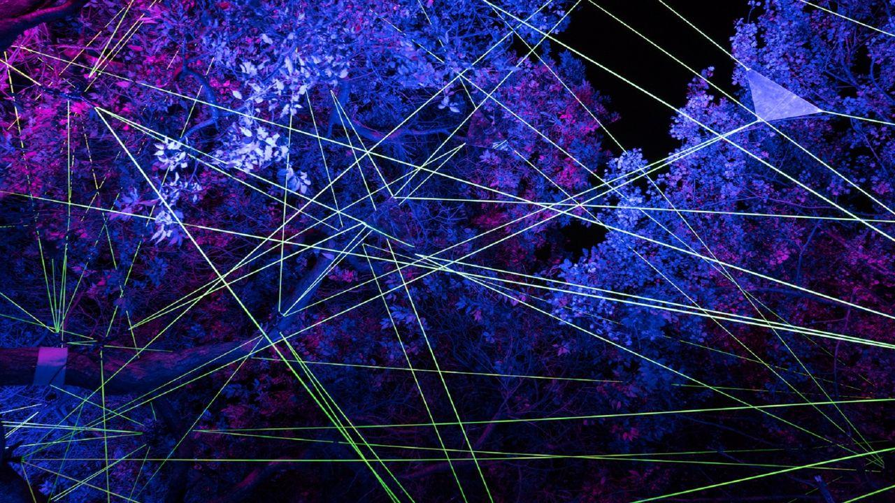 Lichtkunstfestival Enchanted Gardens weer van start