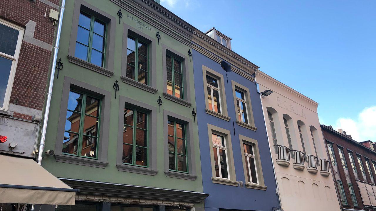 Foto van binnenstad krijgt steeds meer kleur