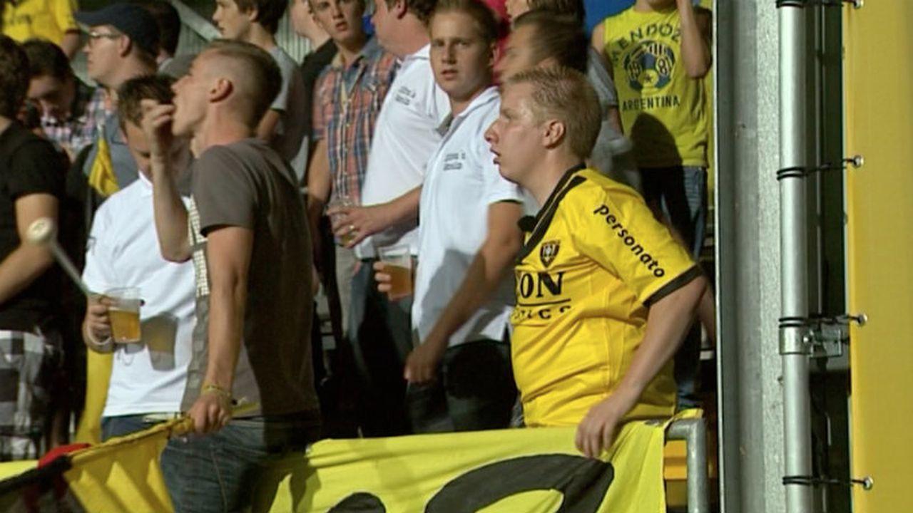 VVV-supporters toch naar Volendam