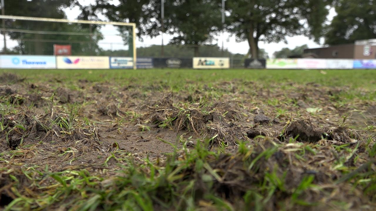 Voetbalvelden FCV-Venlo voorlopig onbespeelbaar