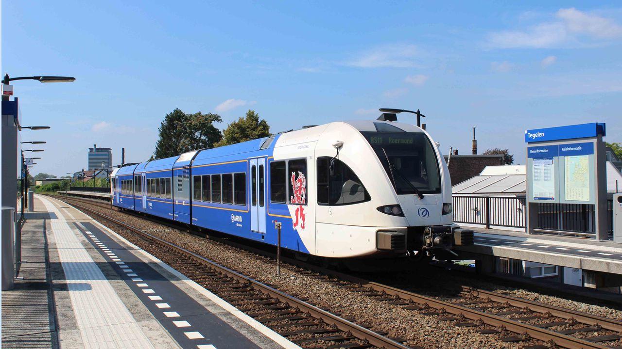 Arriva krijgt miljoenen voor vertraging elektrificatie Maaslijn