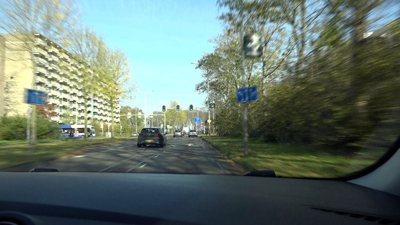 Soms geen groene golf op Krefeldseweg