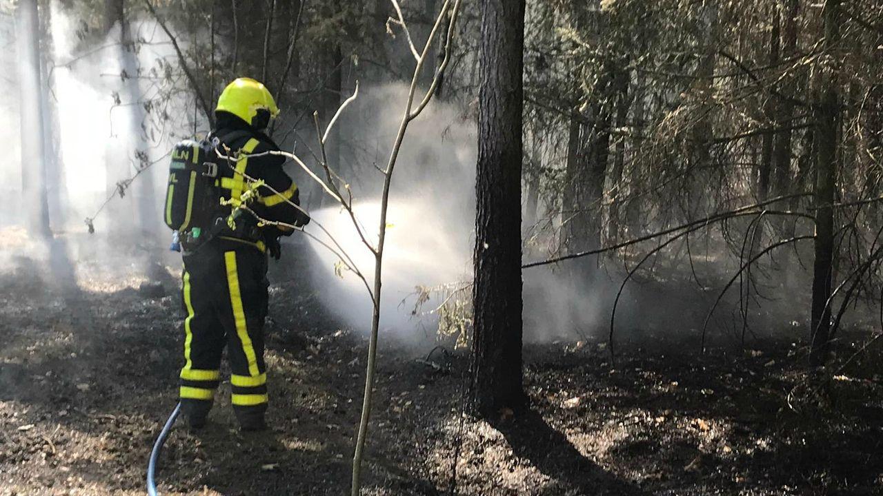 Brandweer leidt speciaal team op voor bestrijding natuurbranden