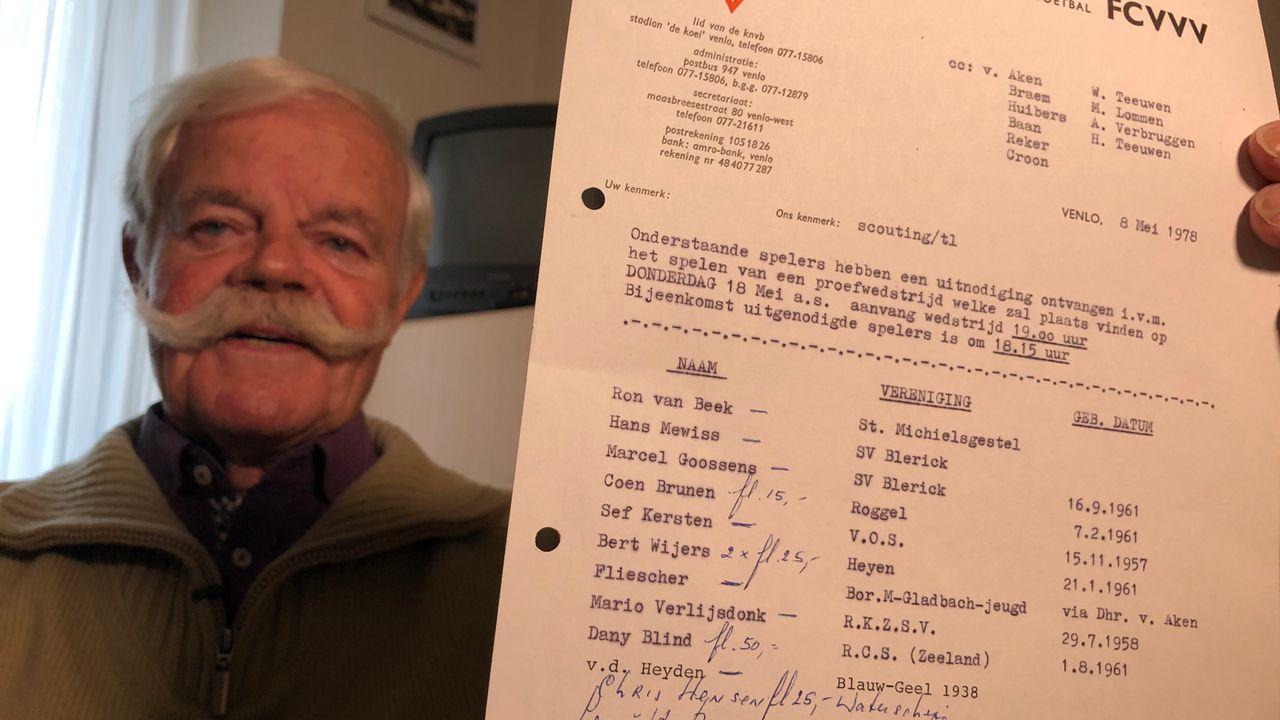 Hoe zakken voor havo-examen Danny Blind van VVV-transfer afhield