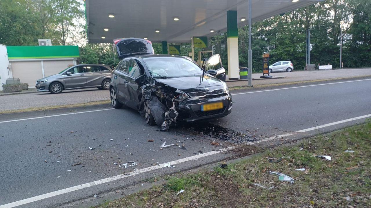 Auto ramt boom in Blerick